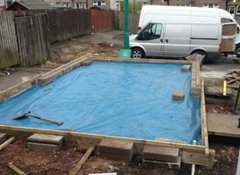 Building Garage Foundations
