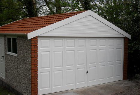 Replacement Apex Garage Roof