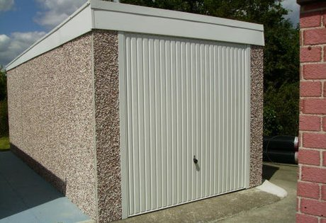 Replacement Pent Garage Roof
