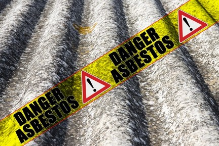 Asbestos Garage Roof Sheeting