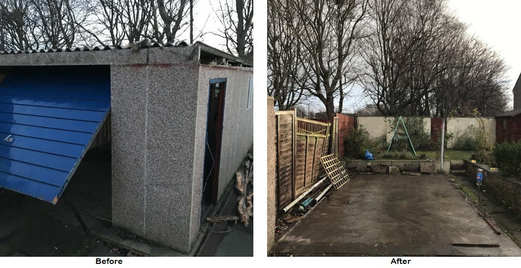 garage removal Edinburgh